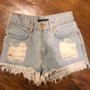Brandy Melville High Waist Jean Short (VINTAGE)